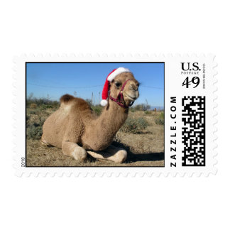 Christmas camel US postage stamps