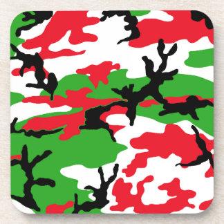 Christmas Camouflage Coasters