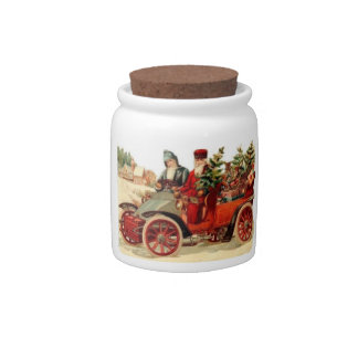 Christmas Candies Jar Candy Dish