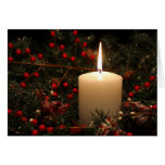 Christmas Candle 1 2014 Greeting Cards