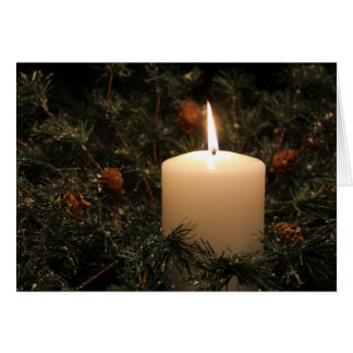 Christmas Candle 3 2014 Card