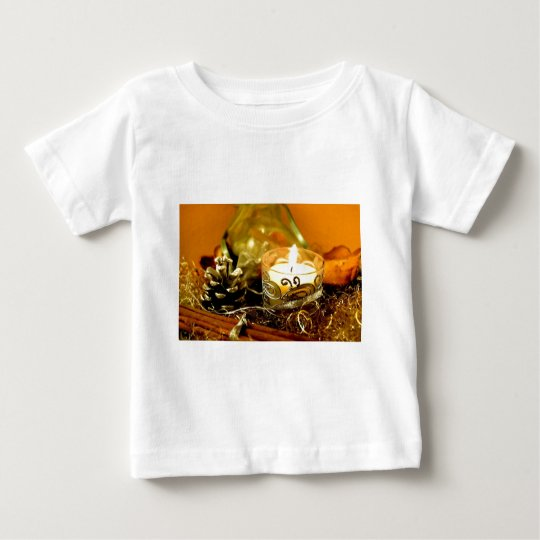 Christmas candle baby T-Shirt