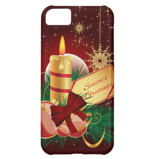 Christmas Candle iPhone 5C Case