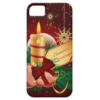 Christmas Candle iPhone 5 Cases
