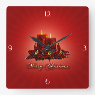 Christmas Candle Clock