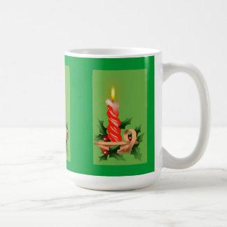 Christmas Candle Coffee Mug
