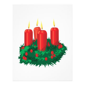 Christmas Candle Flyer Design