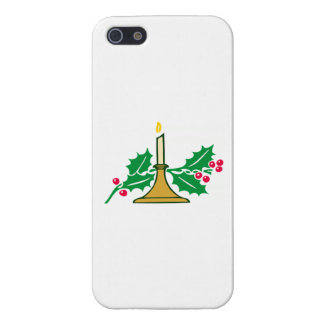 Christmas Candle Case For iPhone 5/5S