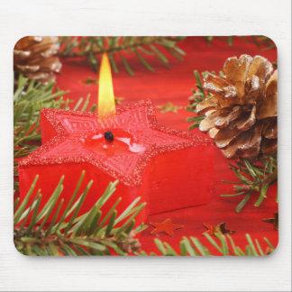 Christmas Candle Mousepad
