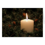 Christmas Candle notecard 10 2014