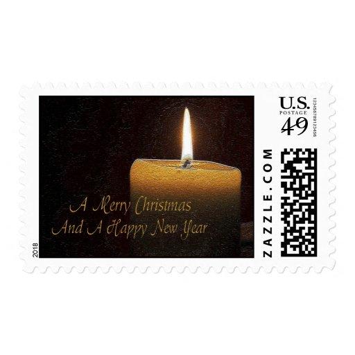 Christmas Candle Postage