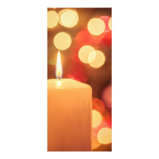 Christmas Candle Rack Card