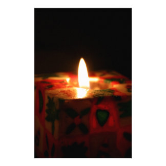Christmas Candle Stationery