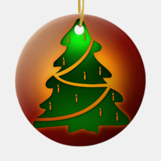 Christmas Candle Tree Christmas Tree Ornament