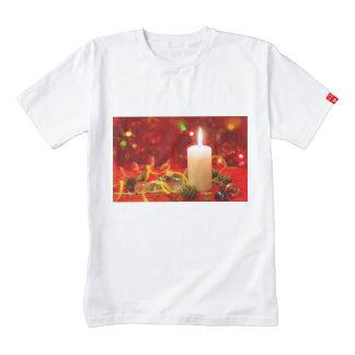 Christmas candle zazzle HEART T-Shirt
