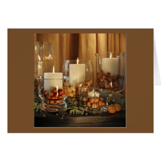 CHRISTMAS CANDLES ADULT CHRISTMAS PARTY INVITATION