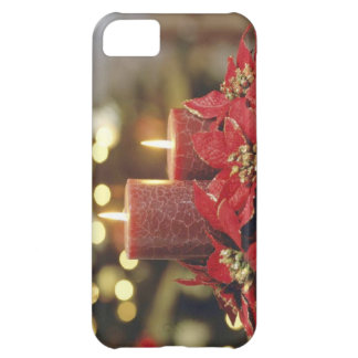 Christmas candles iPhone 5C case