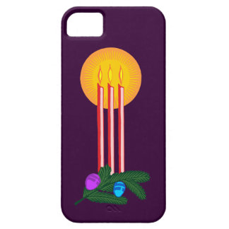 Christmas candles christmas candles iPhone 5 cases