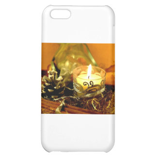 CHRISTMAS CANDLES iPhone 5C CASES