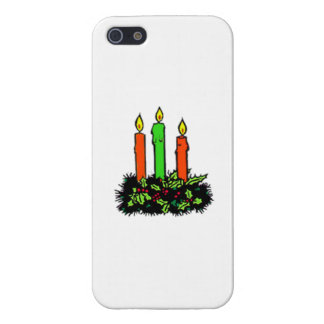 Christmas Candles iPhone 5 Cover