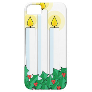 christmas candles iPhone SE/5/5s case