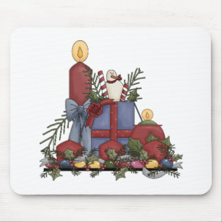 Christmas Candles Mousepads