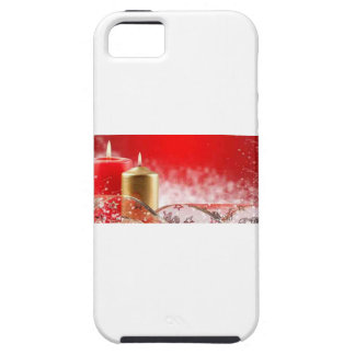 Christmas Candles & Ribbon iPhone 5 Case