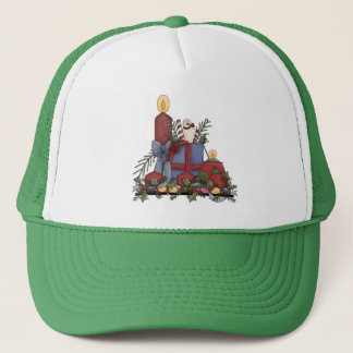 Christmas Candles Trucker Hat