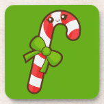 Christmas Candy Cane Beverage Coasters