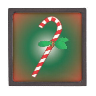 Christmas Candy Cane Gift Box Premium Keepsake Boxes