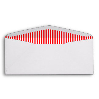 Christmas Candy Cane in Christmas Red Envelopes