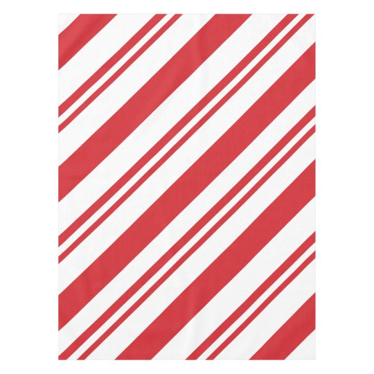 Christmas Candy Cane.Christmas Candy Cane Pattern Tablecloth