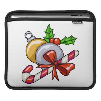 Christmas Candy Cane Sleeve For iPads