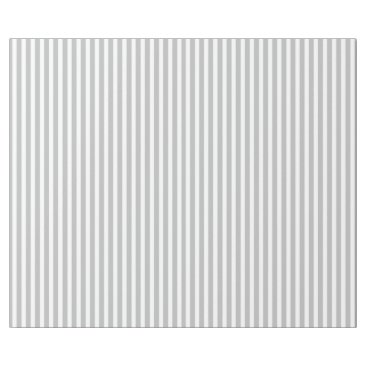 Beach Themed Christmas Candy Cane Stripes in White and Silver Wrapping Paper
