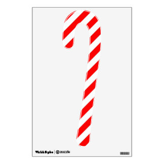 Christmas Candy Cane Wall Decal
