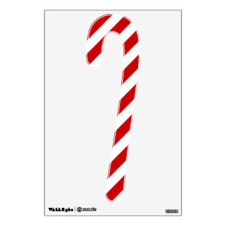 Christmas Candy Cane Wall Sticker