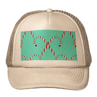 Christmas Candy Canes Trucker Hats