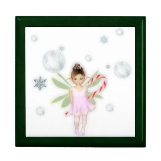 Christmas candy fairy trinket box