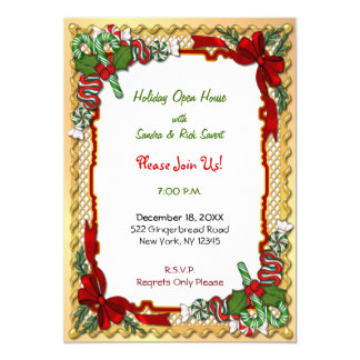 Christmas Candy Garland Card