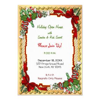 Christmas Candy Garland Card