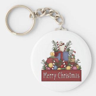 Christmas Candy Keychain