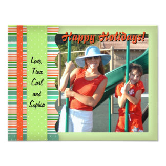 Christmas Candy Stripes Card
