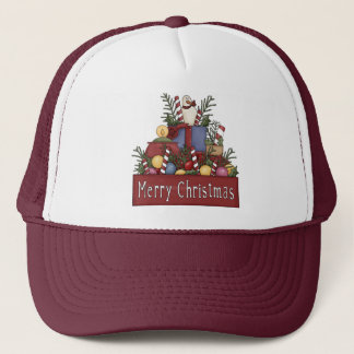 Christmas Candy Trucker Hat
