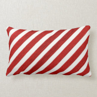 Christmas candycane Holiday pattern pillow