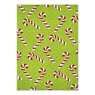 Christmas Candycanes Card