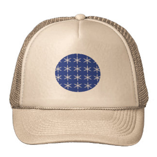 Christmas Cap with Snowflakes Trucker Hat