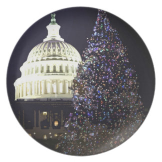 CHRISTMAS CAPITOL PLATE
