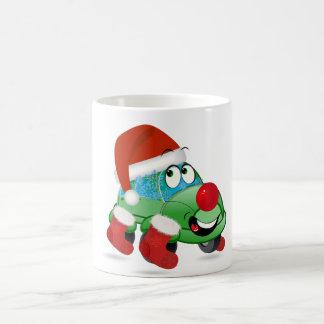 Christmas Car Cartoon Mug