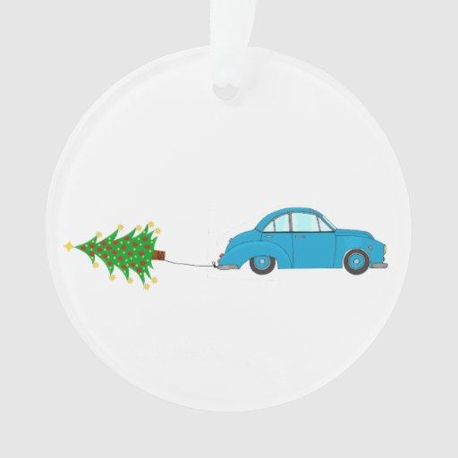 Car personalized christmas tree ornament yurga net