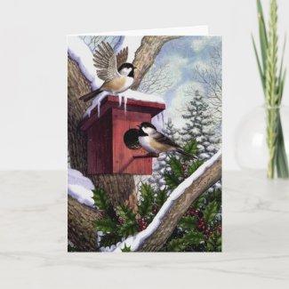 Christmas card card